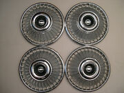 Set Of 4 Vintage 19631964 Chevrolet Chevy Belair Impala Corvair 14 Wheel Covers