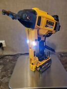 Dewalt Dcn891 20v Max Cordless Concrete Nailer 4 Parts Only Tool-only-untested
