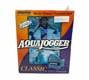 Aquajogger Classic Belt Water Workout Low-impact Pool Exercise Blue Sealed New