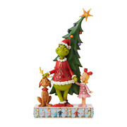 Jim Shore 6006567 , Max And Cindy By Tree 2020 New Christmas Licensed