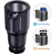 Electric Car Cup Cooler Warmer For Coffee Baby Bottle Drinks Holder Refrigerator
