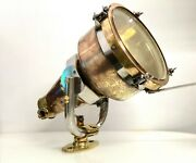 Mid Century Brass Russian Boat Lamp Nile Ships Pendant/hanging/ceiling Light