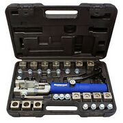 Universal Hydraulic Flaring Tool Set With Tube Cutter Msc-72475-prc Brand New