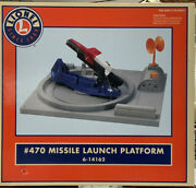 Lionel 470 Missle Launch Platform 6-14162 New In Factory Packed Box