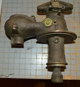 Old Schebler Brass Carburetor Auto Hit And Miss Stationary Engine Tractor Model R