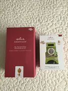 2 Hallmark 2019 Wizard Of Oz Ornaments-merry Old Land Of Oz And Up Up And Away-nwt