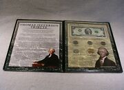 Thomas Jefferson Coin And Currency Commemorative Collection