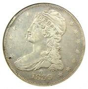 1839-o Capped Bust Half Dollar 50c - Anacs Xf Details - Rare O Mint Coin