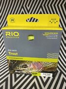 Rio Avid Trout New Wf-8-f 8 Weight Forward Floating Fly Line Yellow