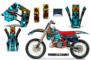 Decal Graphics Kit Wrap + Plates For Ktm Exc Mxc 250 300 1990-1992 Kings