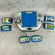 Leap Frog Leapster System W/ 6 Games Star Wars Jedi Reading Math Sonic X