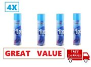 4 Cans Neon 11x Refined Butane Gas 300ml Filtered Lighter Refill Fuel