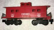 Ho Scale Vintage Gilbert American Flyer Game Train Freight Rr Caboose Car Train