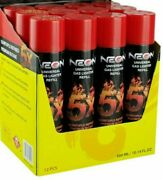 12 Cans Neon 5x Refined Butane Gas 300ml Filtered Lighter Refill Fuel