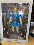 Medicom Toy Real Action Heroes Link Breath Of The Wild Used Excellent Condition