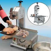 Commercial Electric Butcher Frozen Meat Bone Cutting Band Saw Machine 650w 110v