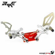 Robby Moto Sbk Rear Sets In Silver Ergal For Ducati Panigale 1299