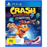 Crash Bandicoot 4 Its About Time Ps4 Brand New Fast Delivery