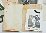 Wwii 82nd Squadron Air Forces 1945 Letters Period Ephemera Sterling Pilot Wings