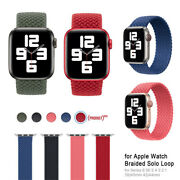 Woven Nylon Band For Apple Watch Sport Loop Iwatch Series Se 6/5/4/3/2/1 38/44mm