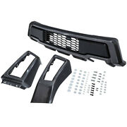 Front Bumper Replacement Cover For Ford F-150 2009-2014 Crew-cab Pickup Set Of 3