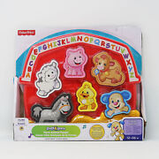 Fisher-price Laugh And Learn Farm Animal Puzzle With 7 Different Songs, Brand New