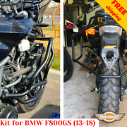 For Bmw F800gs Engine Guard F800 Gs Luggage Rack System Crash Bars Kit 2013-2018