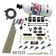 Nitrous Express 80005-10 8-cyl Alcohol 250-350-450-550hp With 10lb Bottle