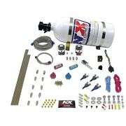 Nitrous Express 80045-15 4-cyl Alcohol 125-175-225-275hp With 15lb Bottle