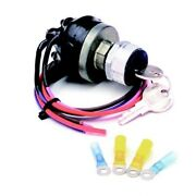 Painless Wiring 80529 Waterproof Universal Keyed Ignition Switch With Key