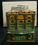 Vintage Dept 56 Porcelain Christmas In The City Series Palace Theater 5963-3 Ex