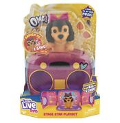 Little Live Omg Pets Have Talent, Puppy Dog With Transforming Stage And Bag