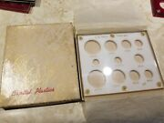 Capital Coin Holder U.s. Gold Type Set New Old Stock