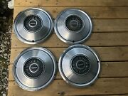 4 - Late 1960and039s To 1970and039s Dodge Division Hub Caps Wheel Covers Oem