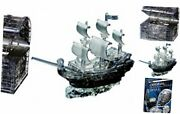 Pirate Ship, Treasure Chest And Skull - Original 3d Crystal Puzzle Bundle 3