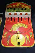 Vintage Tin Litho Shooting Gallery Game Jungle Wolverine No.151 A Pittsburg Usa
