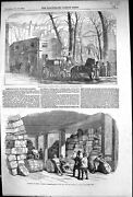 Old 1854 Pembroke House Whitehall Gardens Minister-of-war Office Cuth Victorian