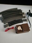 Bachmann Ho Train Track Replacement Pieces W Motor.diesel Hustler Round Track
