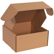 10 X 10 X 5 Kraft Deluxe Literature Mailers Ect-32b - 500 Pieces