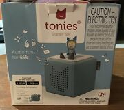 Toniebox Starter Set - Light Blue And Creative Tonie For Boys And Girls Read List