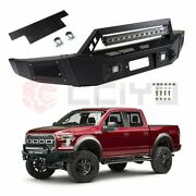 Complete Front Steel Step Bumper For Ford F150 09-11 With Led Light High Quality