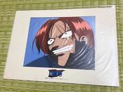Rare Difficult To Find Dress One Piece Shanks Reproduction Japan Anime Cel Genga