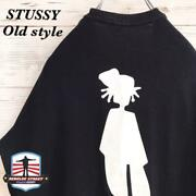 Made In Mexico Stussy T-shirt Shadowman Black List No.st487
