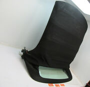 Convertible Top Roof Frame Rear Glass Window Back Car Cover Black 05 Saab 9-3