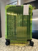 Rimowa Neon Cabin In Lime Yellow Limited Edition Luggage Carry On Suitcase
