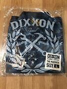 New Dixxon The Maverick With Pearl Snap Flannel Super Rare Yellow Tag Sz Large