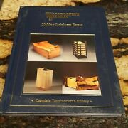 Woodworkers Journal Making Heirloom Boxes 2008 Hardcover