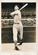 1939 Ted Williams Rookie 5x7 Photo Psa/dna Type 1