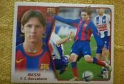 Leo Messi Fc Barcelona. League East 05 06. Panini. New From Envelope.