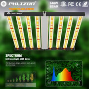 640w Dimmable Fold 8bar Quantum Led Commercial Grow Lights Replace Gavita 1700e
